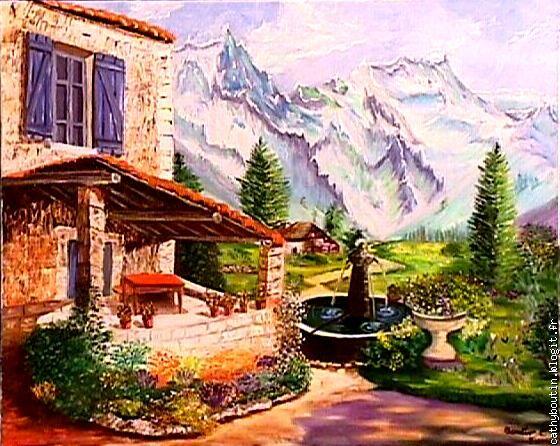 Cathy boutin peintre en decor le blog multim dia 100 facile et gratuit - Peinture facile a reproduire ...